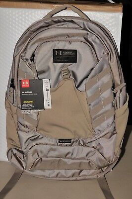 UNDER ARMOUR HUDSON Backpack - Graphite Heather   Black - New ... 44d1837658ea2