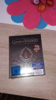 Game of Thrones - Limited Steelbook Bluray Inkl.- Magnet Neu Ovp