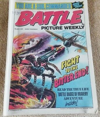 Battle Picture Weekly Comic Issue 19 ,July 1975