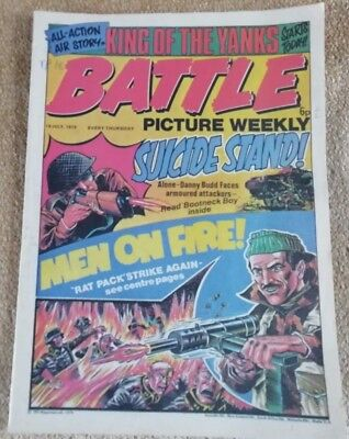 Battle Picture Weekly Comic Issue 18 ,July 1975