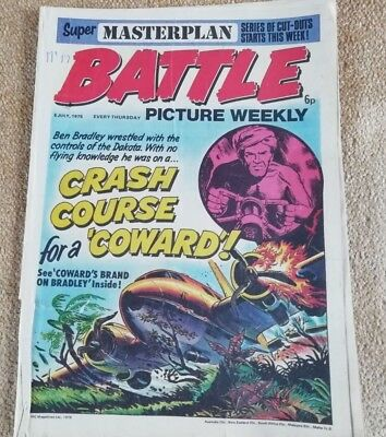 Battle Picture Weekly Comic Issue 17, July 1975