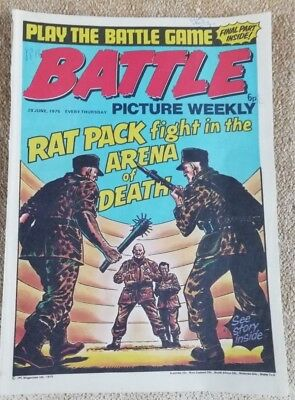 Battle Picture Weekly Comic Issue 16, June 1975(Super Battle game final part)