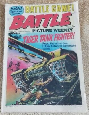 Battle Picture Weekly Comic Issue 15, June 1975(Super Battle game part 4)