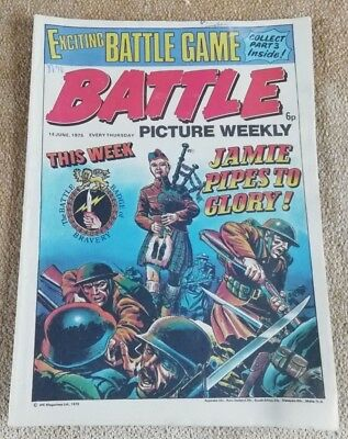 Battle Picture Weekly Comic Issue 14, June 1975(Super Battle game part 3)