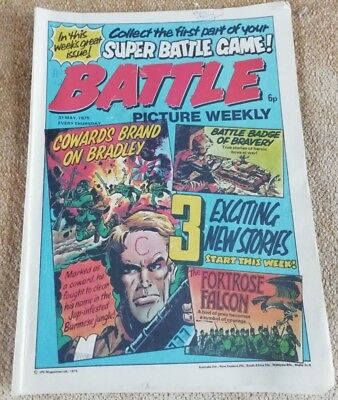 Battle Picture Weekly Comic Issue 12, May 1975(Super Battle game part 1)