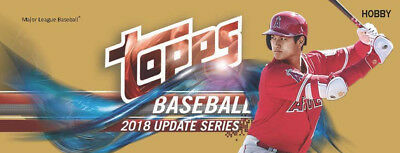 2018 Topps Update Complete Baseball Card Base Set 1-300 Pre Sale Ships Free