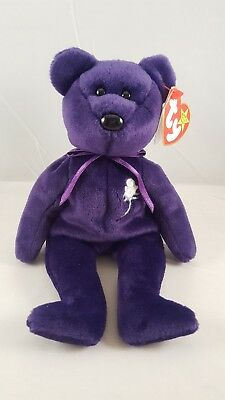 """TY Beanie Baby """"PRINCESS"""" Retired 4/13/1999 **Excellent Condition**"""