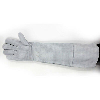 85cm Welding Hand gloves Breathable Heat insulation 1 Pair Long Cuff Cowhide
