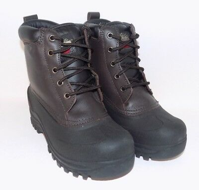 71c0ae4fd8c7 Itasca Blizzard Womens Black Brown Insulated Waterproof Winter Boots Size 6