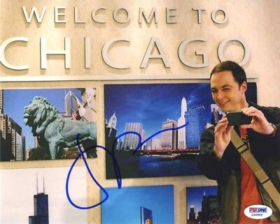 Jim Parsons Big Bang Theory Autographed Signed 8x10 Photo PSA/DNA AFTAL COA
