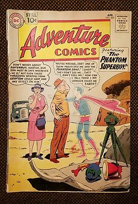 Adventure comics 283 Dc silver age 1st phantom Zone and General Zod Superman