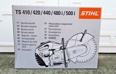 "STIHL TS 420 Cutquik 14"" Professional 66.7 cc Gas Powered Concrete Saw Brand NEW"