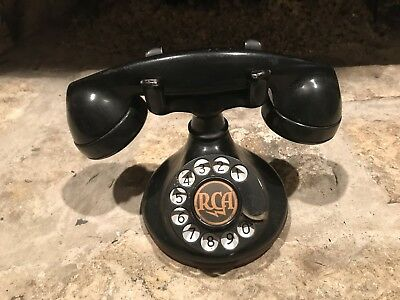 Antique Estate Find Western Electric 202 Rotary Dial Telephone With B1 Base