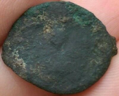 Unknown Ancient or Medieval Bronze Religious Pendant maybe Byzantine?