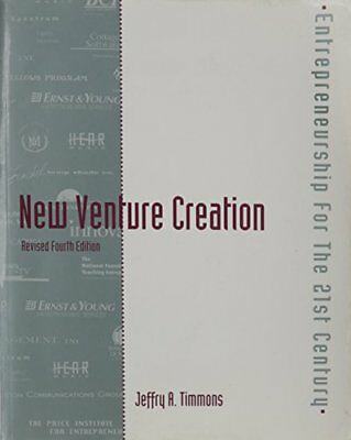 New Venture Creation by Timmons Hardback Book The Cheap Fast Free Post