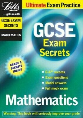 GCSE Exam Secrets: Maths (GCSE Classbooks) Paperback Book The Cheap Fast Free