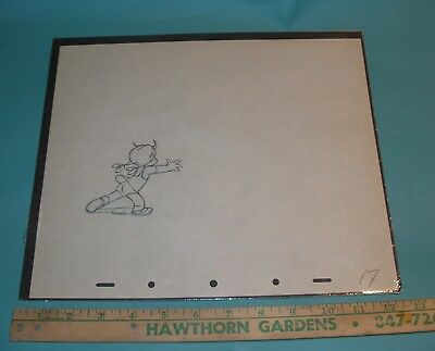 Make Mine Music Disney Production Cel Drawing 1946 All The Cats Join In