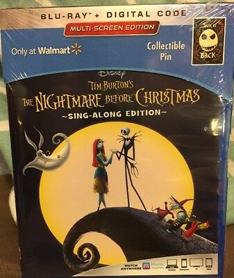 new walmart nightmare before christmas blu ray digital pin flash sale now