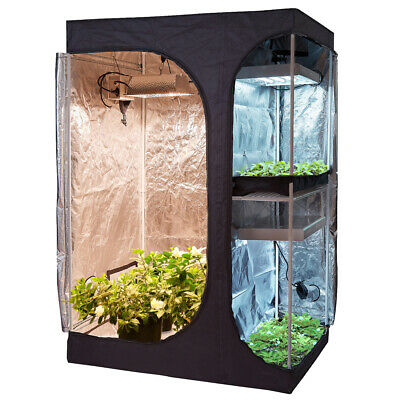 16''x16''x48'' Grow Tent + Digital Hygrometer +Shears+Timer +Trellis Net +Hanges