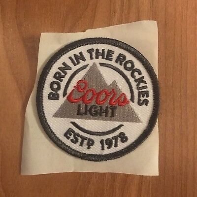 Coors Light Beer Patch