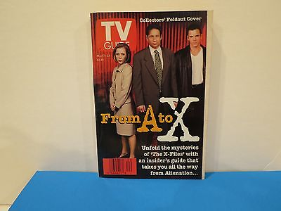 """THE X-FILES Vintage TV Guide """"From A to X"""" - May 17, 1997 (NO ADDRESS LABEL)"""