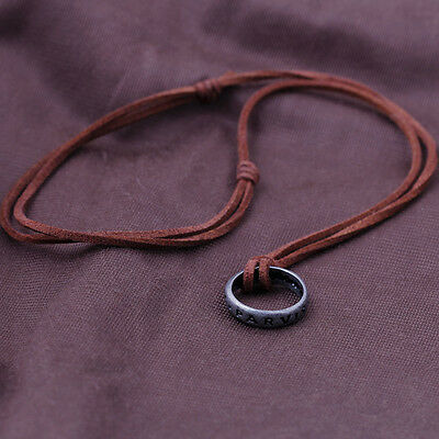 Uncharted 3/4 Nathan Drake's Sir Francis Band Ring Necklace Pendant Collect Gift
