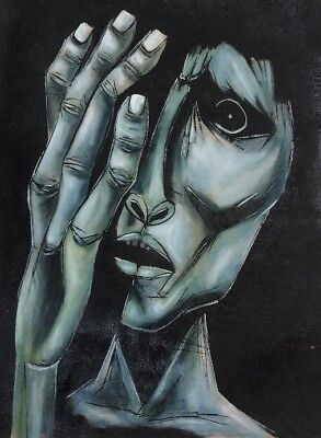 Oswaldo Guayasamin Handmade Painting Sculptures ''EL GRITO'' WALL ART CANVAS