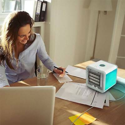 Arctic Air Conditioner Portable Cooling Fan Personal Desk Cooler Humidifier Home