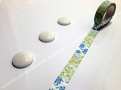 Japanese Washi Tape 15mmx5m Floral Storyboard Flowers #W1207