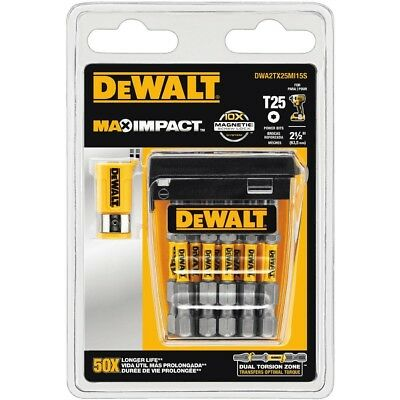 Impact Driver 2.5 inch Torx 25 Screwdriver Drill Bit 15 Pack Set Bits - NEW