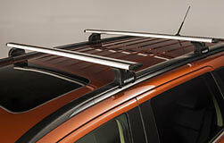 GENUINE MITSUBISHI OUTLANDER 2013on AND PHEV ROOF BARS / CROSS RAILS