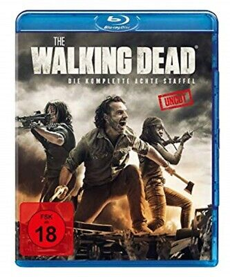 The Walking Dead Staffel 8 Blu-ray Uncut NEU OVP Vorbestellung