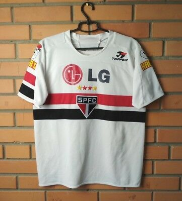 2644d5ac16e SAO PAULO HOME football shirt 2005 size XL jersey soccer Topper ...