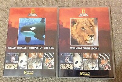 Bundle Of 2 NATIONAL GEOGRAPHIC DVDs