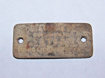 1944 Dog License Tag - Outasamie Co, WI