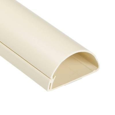 D-Line 60x30 Magnolia Cable Cover Self Adhesive Trunking 50cm, 60cm