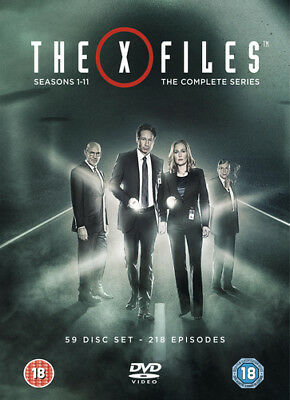 The X Files: The Complete Series DVD (2018) Gillian Anderson ***NEW***