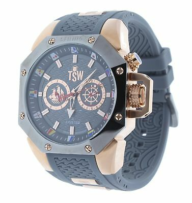 Technosport TS-100-SAIL8 Men's Watch Rose Gold/Gray Sailing Swiss Day/Date Movem