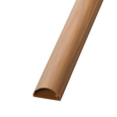 D-Line 50x25 Wood/ Brown Cable Cover Self Adhesive Trunking 50cm, 75cm