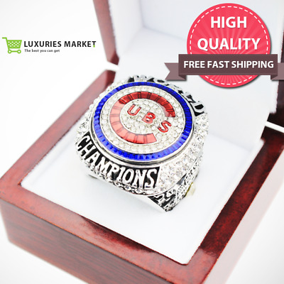 Fans Gift 2016 Chicago Cubs World Series Championship Ring Zobrist Bryant Rizzo