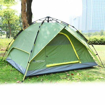 Waterproof 3-4 Person Double Layer Automatic Instant Outdoor Camping Tent Ui