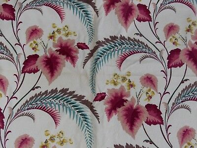 VINTAGE SET OF 2 BARKCLOTH PANELS PINCH PLEATED DRAPES 42 X 80 curtains