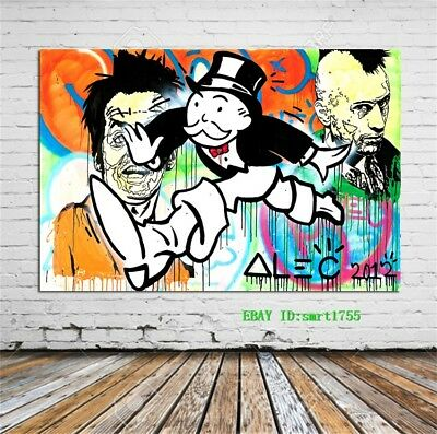 Alec Monopoly Canvas HD Prints Painting Wall Art Home Decor 12x18 inch #35