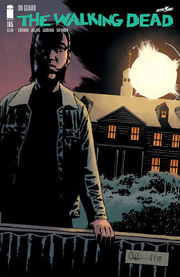 The Walking Dead #185A Image Comics Kirkman Adlard & Stewart VARIANT!