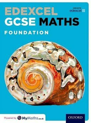 Edexcel GCSE Maths Foundation Student Book by Nicholson, James Book The Cheap