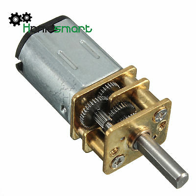 Micro Speed DC 6V 30/60RPM N20 Die Ermäßigung Gear Motor Metal Gearbox Wheel
