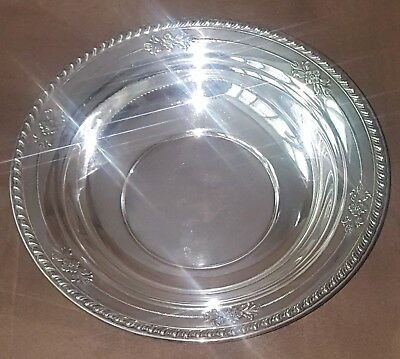 Wallace #225 Sterling Silver Bowl 227 Grams Not Scrap
