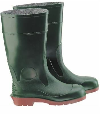 "ONGUARD 82224 Men Steel Toe Boots with Tunnel Outsole, 15"" Height Green size 10"