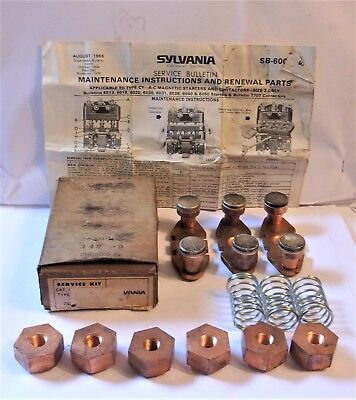 Gte Sylvania Cy331 Contact Kit Size 3 New In Box, Box Has Shelf Wear