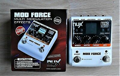 NUX MOD FORCE MULTI MODULATION EFFECTS effet guitare